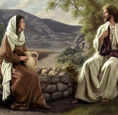 Studies in John's Gospel: Study Part 2 'Water', The Woman at the Well – Video post – Bible Truth and Prophecy Pictures Of Christ, Bible Pictures, Lds Art, Bible Art, Simon Dewey, Image Jesus, Biblical Art, Living Water, New Testament