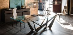 Cattelan Italia Skorpio table by Andrea Lucatello