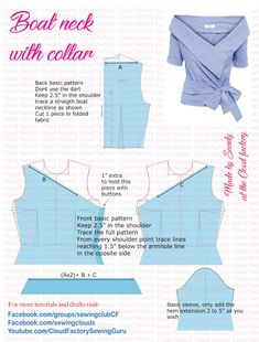 Pattern Draping, Bodice Pattern, Diy Clothing, Clothing Patterns, Sewing Patterns, Sewing Blouses, Dress Making Patterns, Pattern Cutting, Fashion Sewing