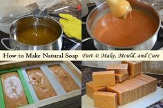 Natural Soap Making for Beginners: How to make Cold-Process Soap * Lovely Greens *: Natural Soap Making for Beginners – Make, Mold and Cure Handmade Soap Recipes, Soap Making Recipes, Handmade Soaps, Green Soap, Soap Tutorial, Natural Remedies For Anxiety, Soap Making Supplies, Cold Process Soap, Soap Molds