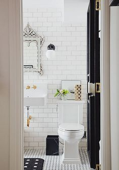 good use of small space w/pocket door