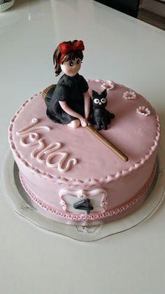 Homemade by MI: Kikin lähettipalvelu - kakku Venlalle / Kiki's del...