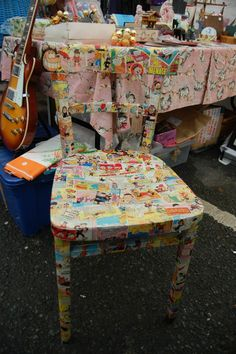 This chair was snapped up. 25 November, Step Inside, Car Parking, Cold, Vintage, Home Decor, Decoration Home, Room Decor, Vintage Comics