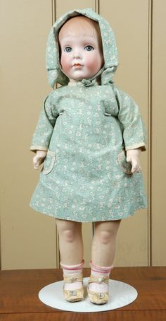 """20"""" All Original Grace Rockwell Character Doll, 1920's"""