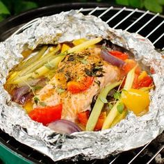 Grill N Chill, Bbq Party, Lchf, Nom Nom, Salmon, Tacos, Good Food, Food And Drink, Dinner