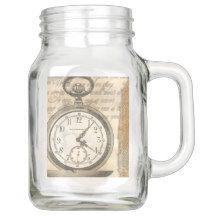 Steampunk Pocket Watch Steampunk Collection Mason Jar
