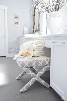 Happy first week of spring and welcome to a Spring Refresh in the Master Suite + tour hosted by the lovely Marty of A Stroll Through Life. This is my first time on this fabulous tour and I'd like to send out a big thank you to Marty for having me!! And, w