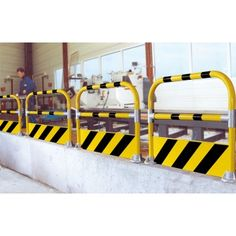 Safety Hoop Barrier. A specially designed barrier for protecting staff and…