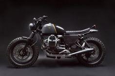 Moto Guzzi V7 Stone by Venier Customs - Silodrome