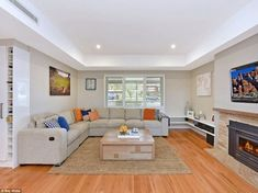 Craig Archer and wife Sarah's Sydney house renovations made them millionaires Dulux Dieskau, Weatherboard House, Front Verandah, Extra Bedroom, Wooden Flooring, House Colors, Living Room Decor, Lounge, House Design