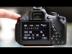 Video on how to set the back button focus on the Canon Rebel T4i/ 650D and explains how BBF works.
