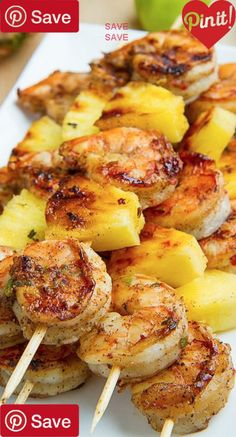 Mexican Grilled Shrimp with Corn Salsa #sea  30 mins to make, serves 4-6 This Mexican Grilled Shrimp with Corn Salsa is one of my new favorite dinners! These flavorful little shrimp are absolutely delicious on… Ingredients Gluten free Seafood 2 lbs Shrimp Produce ½ bunch Cilantro, fresh 2 ears Corn ½ tsp Garlic powder 1 Jalapeno, large 1 Lime, juice from 1 Limes and cilantro ½ tsp Onion powder 2 Roma tomatoes 1 White onion, small