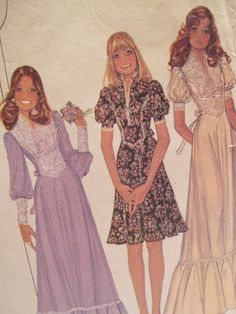 Vintage 70s McCall's Misses Dress Sewing by CrisMichaelsCreation, $8.00
