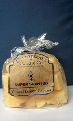 A glazed lemon cookie wax crumble.