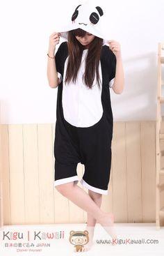 Panda Happy Animal Adult Summer Kigurumi Onesie  SHOP NOW! http://www.kigukawaii.com/collections/spring-summer-kigurumi/products/panda-happy-animal-spring-summer-kigurumi-onesie  Kigu Kawaii   www.kigukawaii.com Sharing the Cuteness Inside of You (▰˘◡˘▰)  #summer #kigurumi #kigukawaii #onesie #pajama #panda #pandakigu #cutepanda #cute