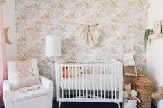Baby Girl Cactus Boho Themed Nursery - Anthropologie x West Elm x Pottery Barn Baby