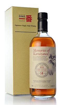 Memories of Karuizawa Ichiban -Single Malt Whisky 14-year-old 軽井沢14年[1999]シェリーバット#855