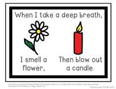 Breathing Visualization Posters & Social Story - TeachersPayTeachers.com
