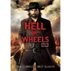 Hell On Wheels - The Complete First Season. Who could resist a troubled hero named 'Cullen'? Not me! It's a well written, well acted, well cast show. (Love!)
