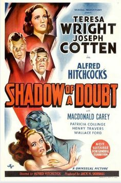 Shadow of a Doubt (Alfred Hitchcock, 1943)