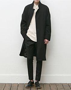The Best Examples for Korean Street Fashion Minimal Fashion, Love Fashion, Mens Fashion, Fashion Outfits, Classic Fashion, Stylish Men, Men Casual, Der Gentleman, Best Street Style