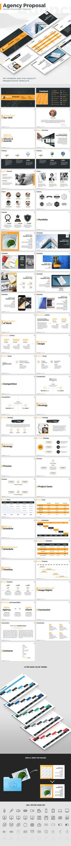 Agency Proposal Keynote Presentation Template #keynote #presentation template • Download ➝ https://graphicriver.net/item/agency-proposal-keynote-presentation-template/18393177?ref=pxcr