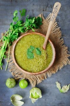 Tomatillo Sauce Recipe From 'Muy Delish'