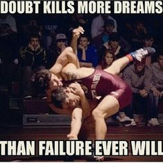 good reminder for my little wrestler.