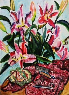 paintings by Regine Bartsch Fine Art, Flowers, Plants, Paintings, Paint, Florals, Painting Art, Planters, Painting