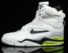new concept 11298 db0a2 Nike Air Command Force White Black Neon Adidas Attitude, Adidas Superstar,  Sports Shoes,
