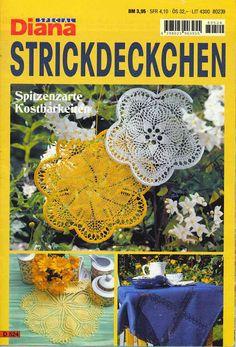 Diana Special - D 1460 Strickdeckchen - Alex Gold - Picasa Web Albums