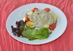 #recipes grilled vegetables with blue cheese