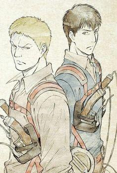 Reiner | Bertholdt | Shingeki no Kyojin |  Attack on titan | SNK