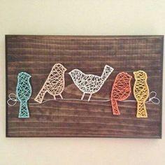 Birds String Art