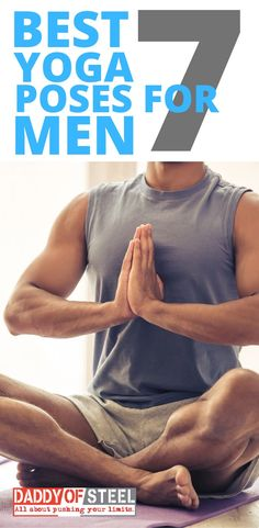 7 Best Yoga Poses For Men For men, the physical and mental benefits of yoga are equal or even greater to lift weights. Here are the best yoga poses for men to gain strength and build muscles. Ashtanga Yoga, Yoga Bewegungen, Vinyasa Yoga, Yin Yoga, Yoga Flow, Yoga Man, Yoga Poses For Men, Cool Yoga Poses, Yoga Poses For Beginners
