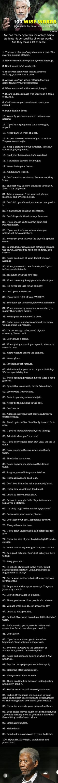 I wish I learned these earlier...