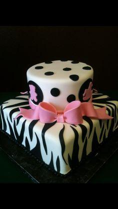 Babyshower cake www.cakedesignslv.com