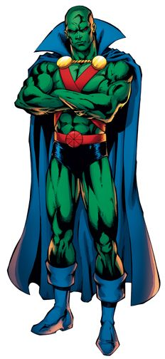 Martian Manhunter by Ed Benes