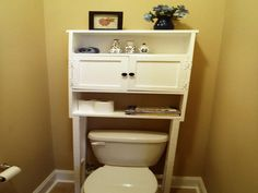 Small Bathroom Space Saver Over toilet Diy Space Saver for Bathroom Building A Shelving Unit Small Bathroom Cabinets, Small Bathroom Storage, Bathroom Design Small, Bathroom Organisation, Bathroom Furniture, Bathroom Ideas, Simple Bathroom, Modern Bathroom, Bathroom Closet