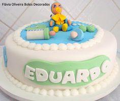 Flávia Oliveira - Bolos decorados: * Bolos para Chá de bebê e batizados
