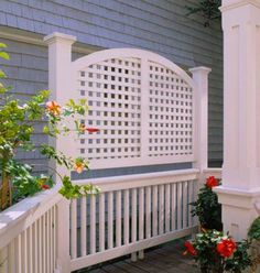What Could Be Better Than A Planter And Trellis In One