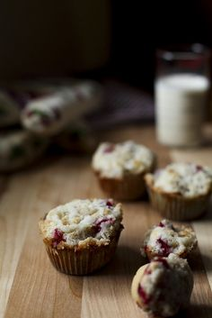 Cranberry Streusel Muffins - I really hoarded cranberries this year, need to find things to make with them