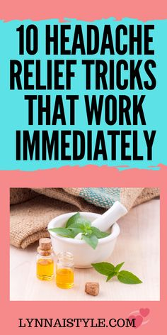 10 Headache relief tricks that work. Healthy Diet Tips, Good Health Tips, Health And Fitness Tips, Health Advice, Health Care, Sinus Headache Relief, Pain Relief, Burn Calories Fast, Natural Remedies For Migraines