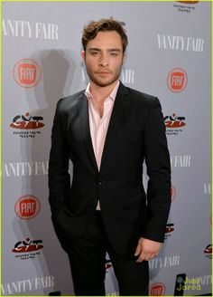 Ed Westwick attends the 2014 Vanity Fair Young Hollywood Party