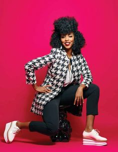 Jessica Williams, The Daily Show's reigning queen of satire, opens up about her mom, her therapist, and how she deals with haters. 2 Dope Queens, Healthy Body Images, Jessica Williams, Afro Punk, Black Girls Rock, Large Women, Strike A Pose, Beyonce, Feminism