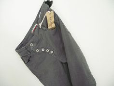 NEU Jeans *MELLY & CO* Denim ITALY grau Gr. S 36