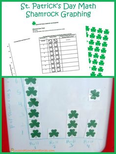St. Patrick's Day Math: Graphing Shamrocks