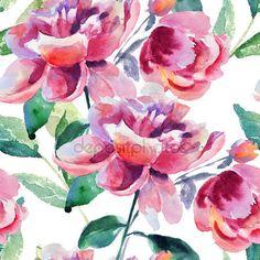 Télécharger - Fond d'écran transparente avec fleur de pivoine belle — Image #32110149