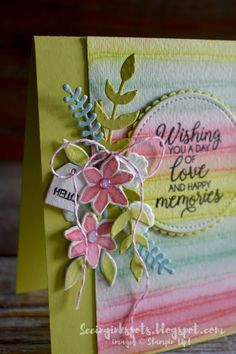 Seeing Ink Spots: Painted Background and Bouquet