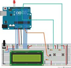 Arduino LCD Thermostat!